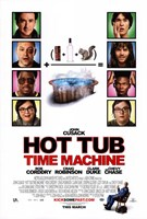 Hot Tub Time Machine - style A Fine Art Print