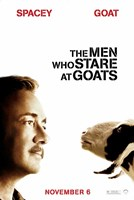 The Men who Stare at Goats - style B Fine Art Print