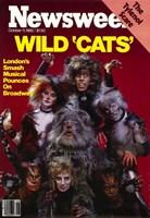 "Cats (Broadway) - style C - 11"" x 17"", FulcrumGallery.com brand"