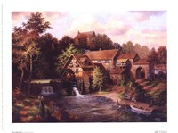 """The Old Mill by Klaus Strubel - 8"""" x 6"""""""