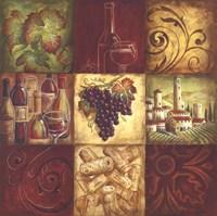 Tuscan Wine II Fine Art Print