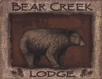 Bear Creek- mini Fine Art Print