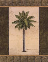 East Indies Palm II - mini Framed Print