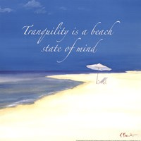 "Tranquility Sentiment by Paul Brent - 12"" x 12"" - $9.99"
