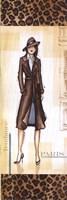 """Paris Fashion - mini by Andrea Laliberte - 6"""" x 18"""""""