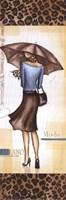 "Milan Fashion - mini by Andrea Laliberte - 6"" x 18"""
