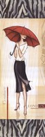 "London Fashion - mini by Andrea Laliberte - 6"" x 18"""