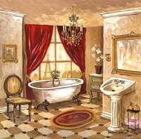 Persian Bath Fine Art Print