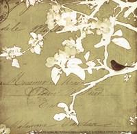 "Song Birds I - mini by Amy Melious - 6"" x 6"""