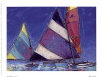 Saucy Sails Fine Art Print