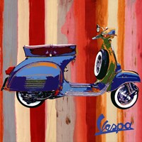 "Pop Vespa II by Valerio Salvini - 20"" x 20"""