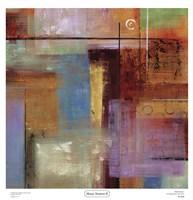 "Masai Textures II by Hilda Stamer - 19"" x 20"""