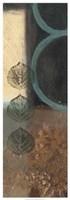 Earthen Leaves I Framed Print