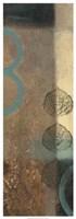 "Earthen Leaves II by Vision Studio - 13"" x 37"""