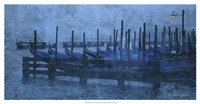 "Blue Canal II by Terry Lawrence - 25"" x 13"""