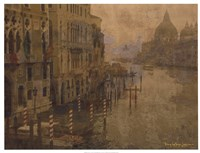 """Tour of Venice VI by Terry Lawrence - 25"""" x 19"""", FulcrumGallery.com brand"""