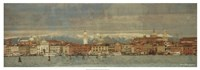 """Tour of Venice VII by Terry Lawrence - 37"""" x 13"""", FulcrumGallery.com brand"""