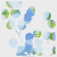 "Blue Plums I by Ricki Mountain - 19"" x 19"""