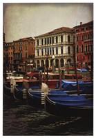 Venetian Canals II Framed Print