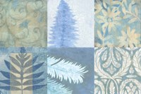 Blue Textures II by Vision Studio - various sizes