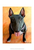 Bull Terrier Rhino Fine Art Print