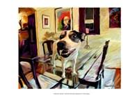 "Juan's Bad Dog by Robert McClintock - 19"" x 13"""