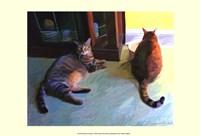 "Birdie & Sweepo by Robert McClintock - 19"" x 13"""
