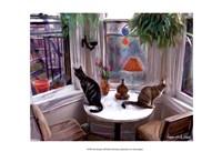 "Cat's Messing by Robert McClintock - 19"" x 13"""