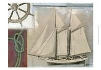 "Sailing II by Norman Wyatt Jr. - 19"" x 13"""
