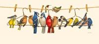 Bird Menagerie II Fine Art Print