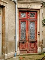 Weathered Doorway I Framed Print