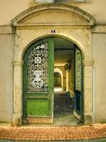 Weathered Doorway II Fine Art Print