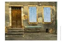 Weathered Doorway V Fine Art Print