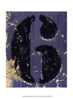 Vintage Numbers VI Fine Art Print