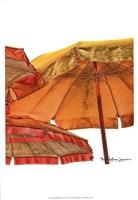Umbrellas Italia II Framed Print