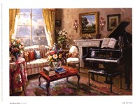 "The Music Room by Foxwell - 8"" x 6"""
