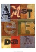 Amsterdam Fine Art Print