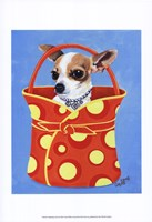 Chihuahua Dots Fine Art Print