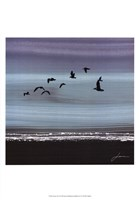 Dusky Sea II Framed Print