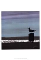 Dusky Sea IV Framed Print