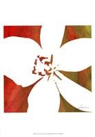 Peace Flowers II Framed Print