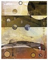 "Thru the Atmosphere II by James Burghardt - 23"" x 29"""