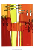 "Uplift I by James Burghardt - 13"" x 19"" - $12.99"