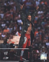 Edge Wrestlemania 26 Action Fine Art Print