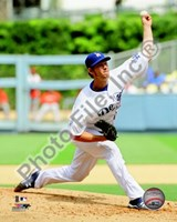 Clayton Kershaw 2010 Action Fine Art Print
