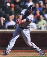 Brian McCann 2010 Batting Action Fine Art Print