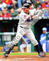 Jim Thome 2010 batting Fine Art Print