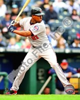 Delmon Young 2010 Action Fine Art Print