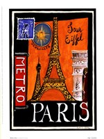 Metro, Paris Fine Art Print