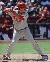 "Carlos Ruiz 2010 Batting Action - 8"" x 10"""